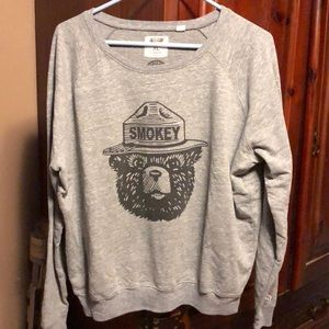 Smokey the bear sweater